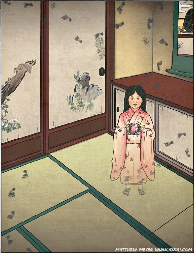 Pillole di Folklore # 1 – Lo Zashikiwarashi