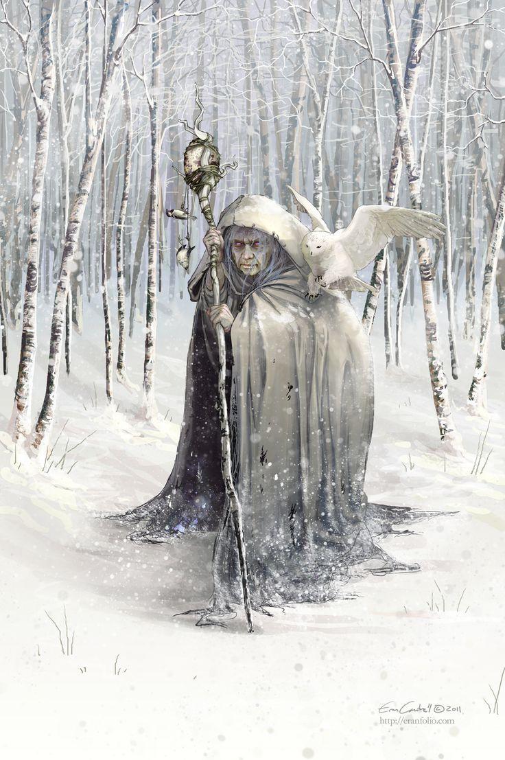Beira, la dea dell'inverno nel folklore scozzese