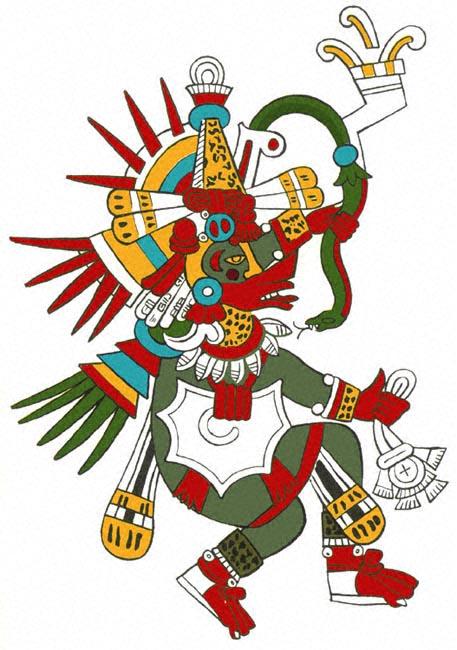 Pillole di Folklore # 17 – Quetzalcoatl e iTezcatlipocas