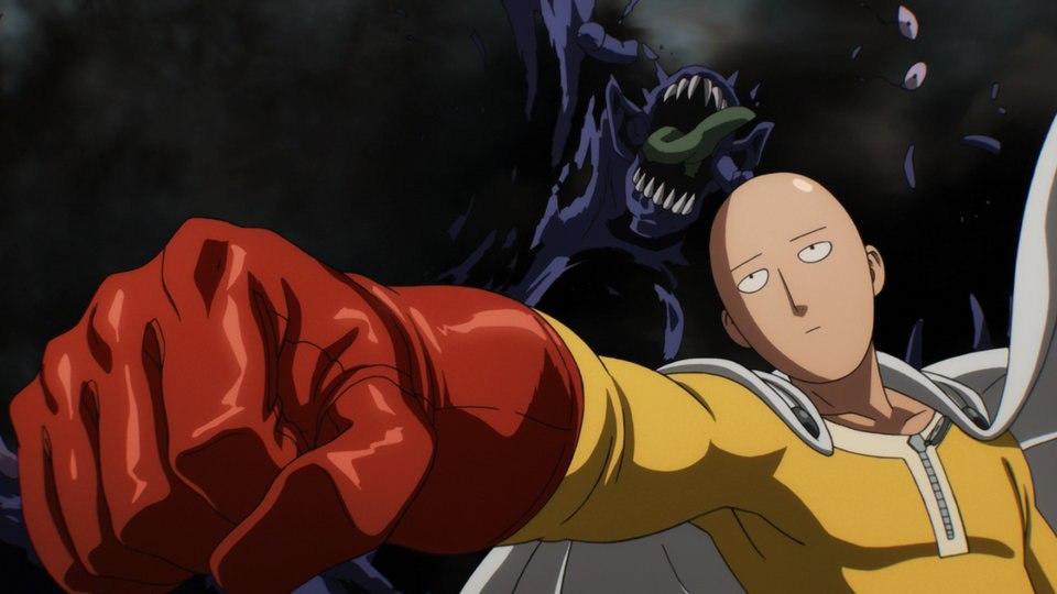 Saitama. il protagonista dell'anime One Punch Man