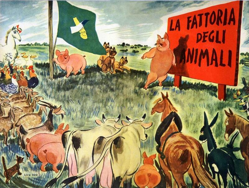 LA FATTORIA DEGLI ANIMALI, GEORGE ORWELL-RECENSIONE