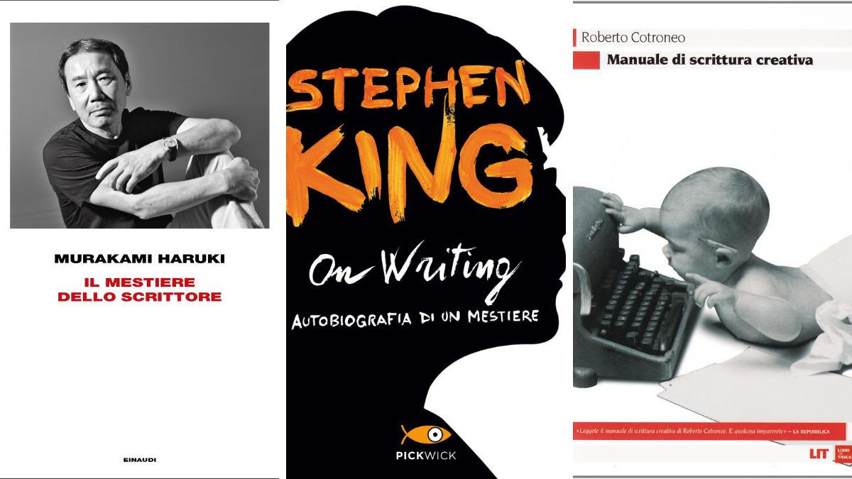 Tre manuali di scrittura creativa aconfronto