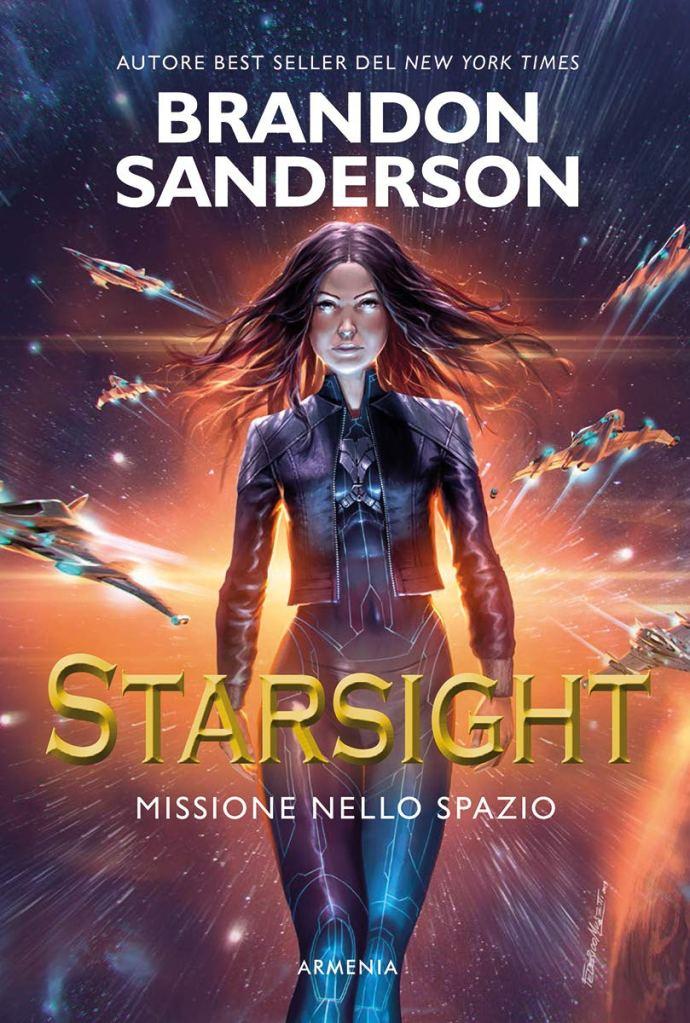 """La copertina di """"Starsight"""" di Brandon Sanderson"""