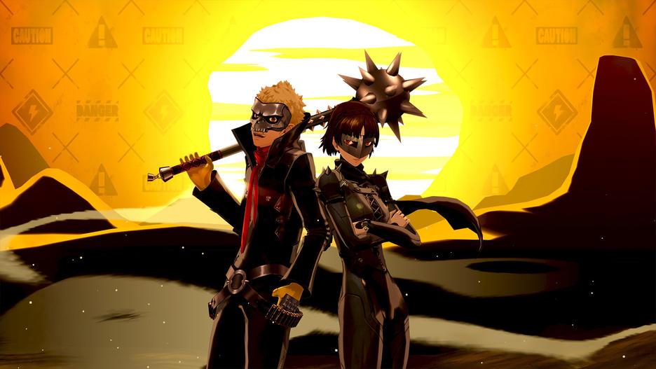 Uno screenshot di Persona 5 Royal