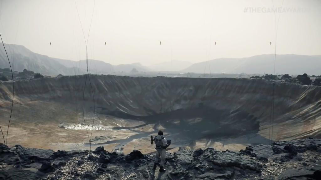 Uno screenshot di Death Stranding