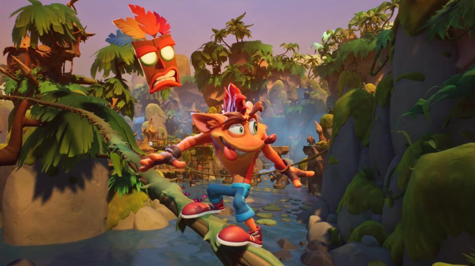 Un artwork di Crash Bandicoot 4: It's About Time