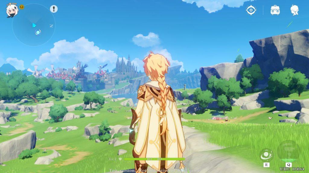 Uno screenshot di Genshin Impact