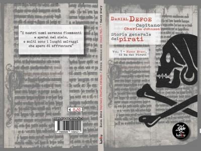 """La copertina di """"Storia generale dei pirati Vol.1"""""""