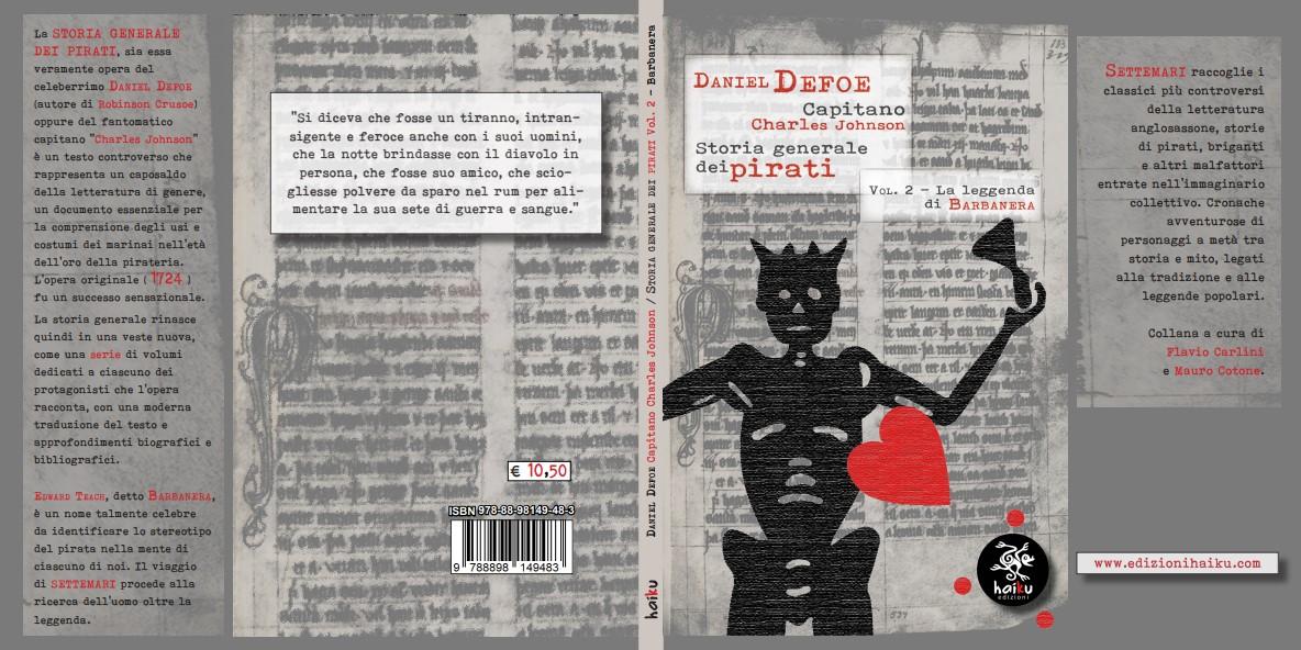 """""""Storia generale dei pirati Vol.2"""" del capitano Charles Johnson/Daniel Defoe –Recensione"""