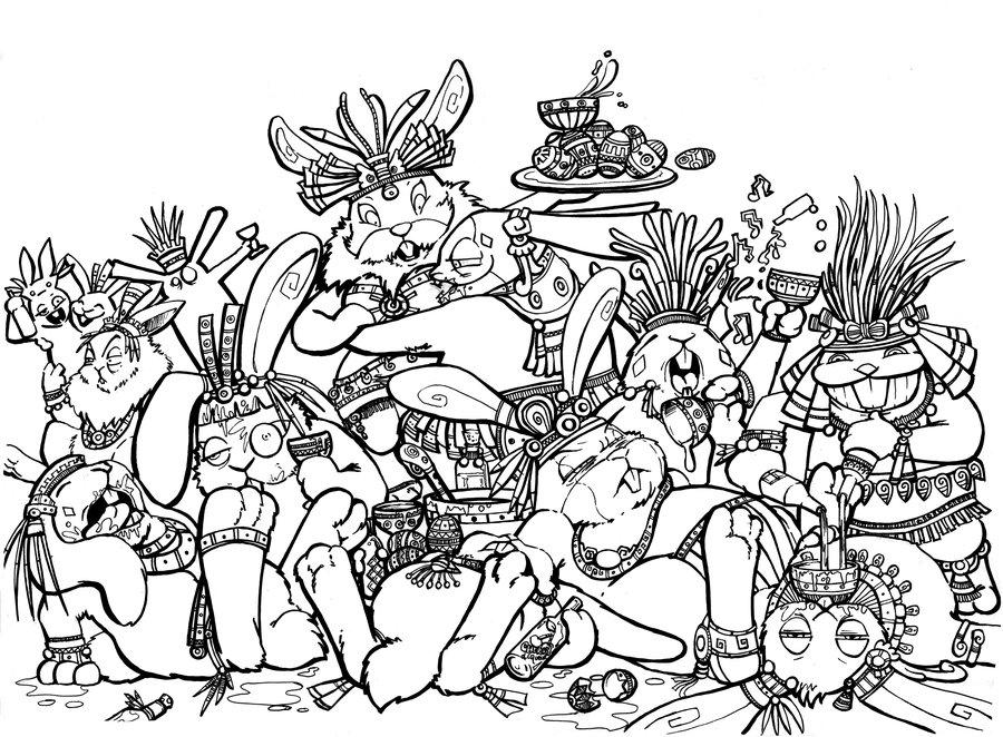 I Centzon Totochtin, l'unità di misura dell'ubriachezza – Pillole di Folklore #40