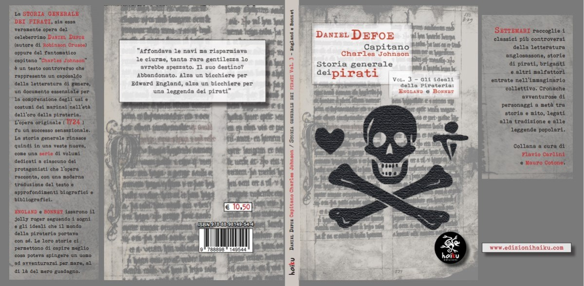 """La copertina di """"Storia Generale dei Pirati Vol.3"""""""