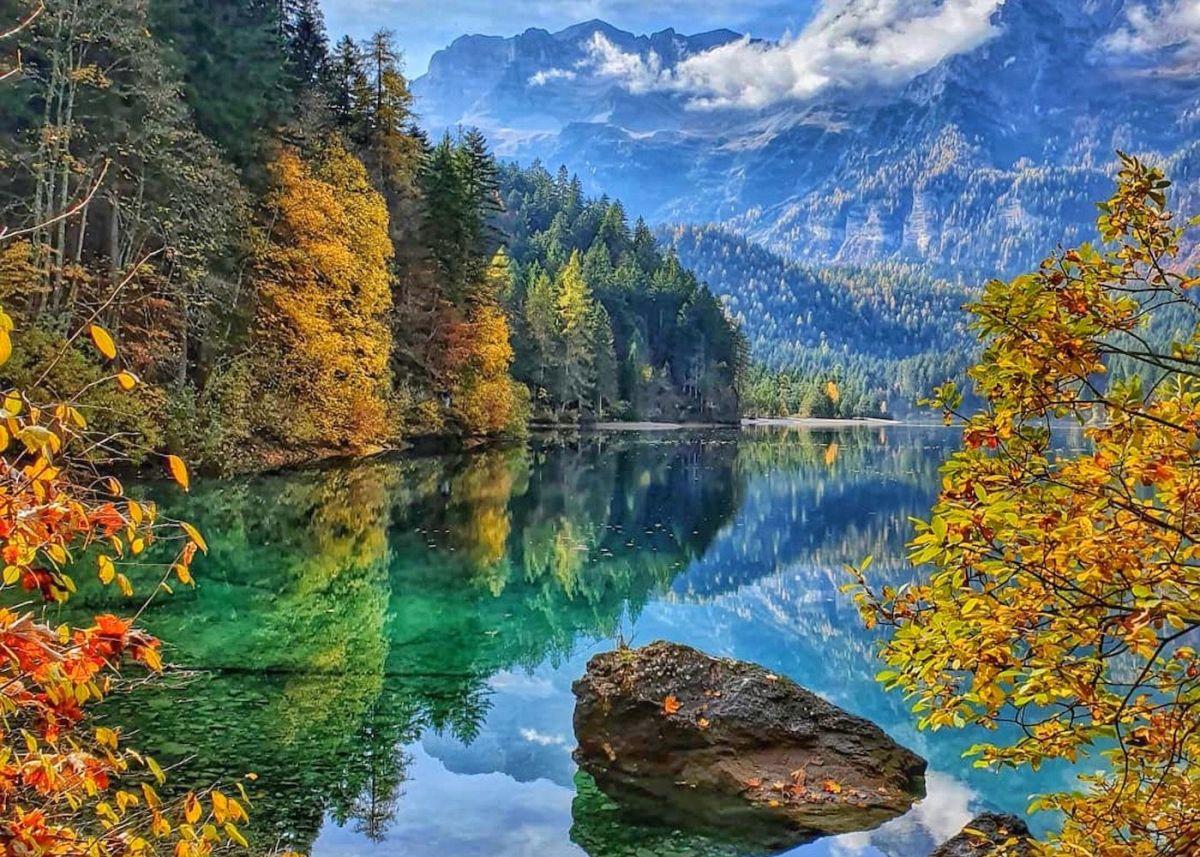 Tovel, Trentino- La leggenda del lagorosso